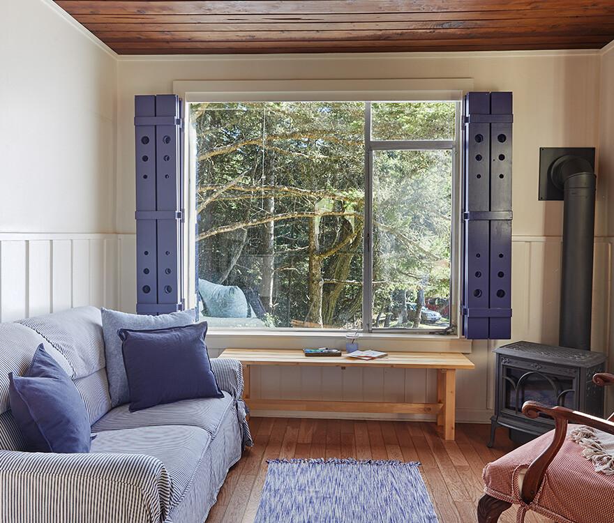 Cottage 1 Living Area